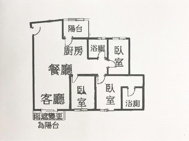 鴻築由心景觀三房車10F,桃園市桃園區大興路